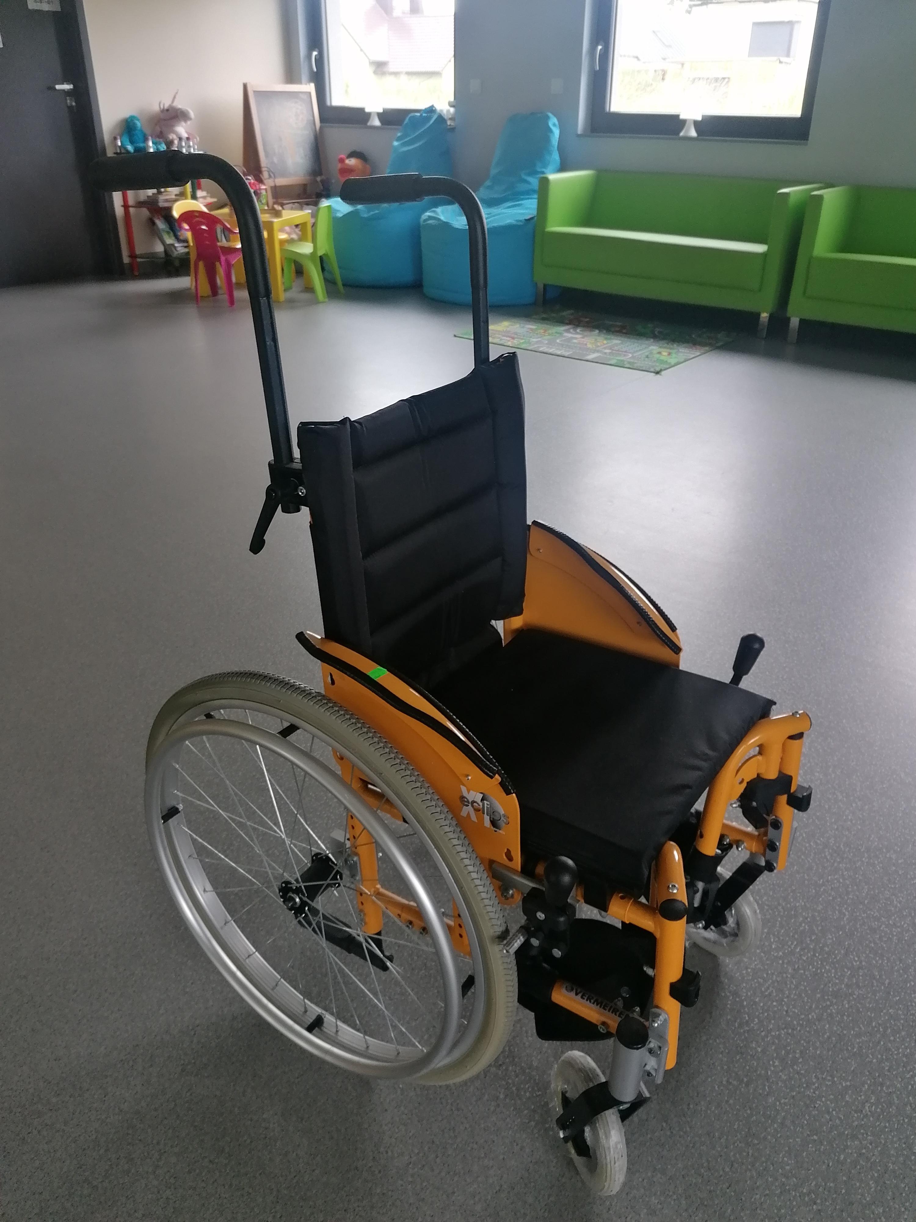 wózek inwalidzki elips x4 kids dzięcięcy