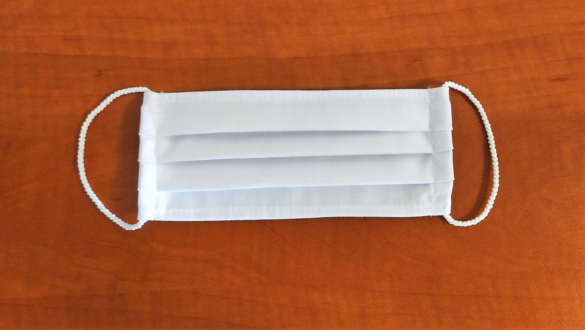 Maseczki wielokrotnego użytku z bawełny medycznej