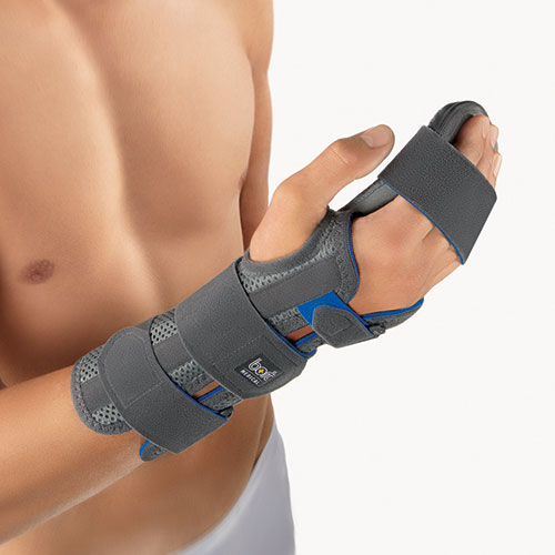 Orteza na rękę z wyciąganą podkładką pod palce ManuCarpal Combi