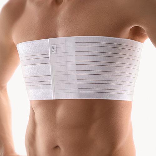 Elastyczny pas żebrowy dla mężczyzn