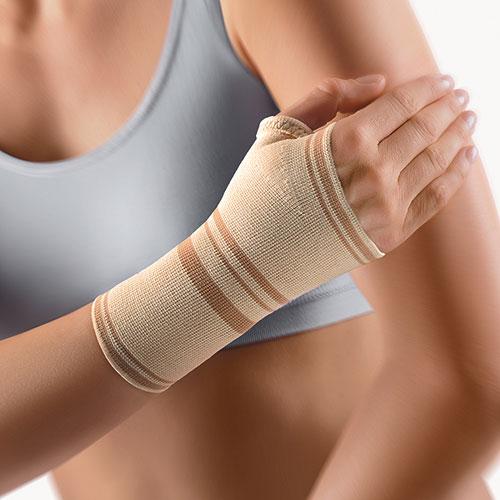 Kompresyjna orteza nadgarstka z otwartym kciukiem Bort
