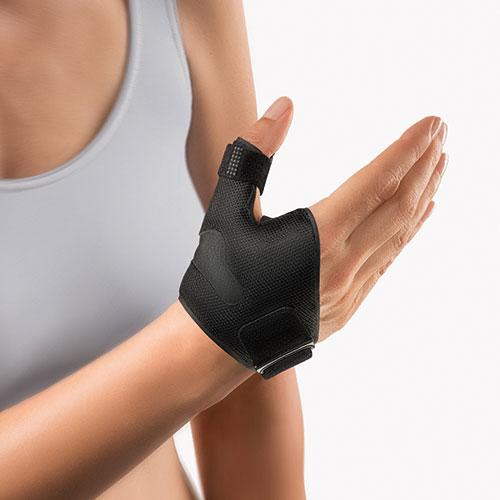 Termoplastyczna orteza kciuka SellaFix N Czarna