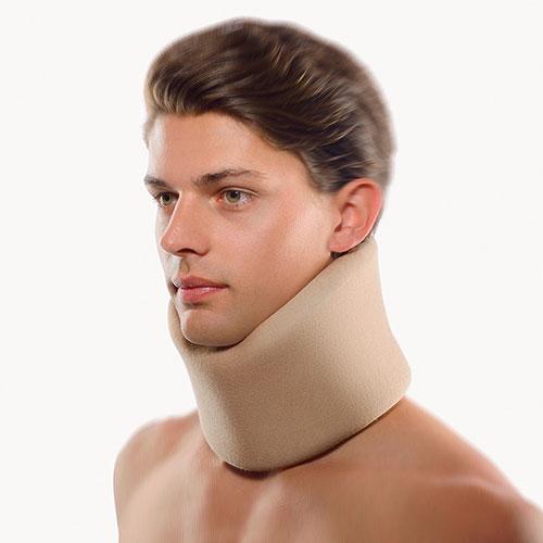 Kołnierz ortopedyczny mięki cielisty Cervical Support