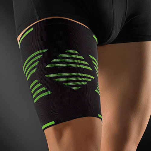 Opaska na udo wersja sportowa ActiveColor® Thigh Support