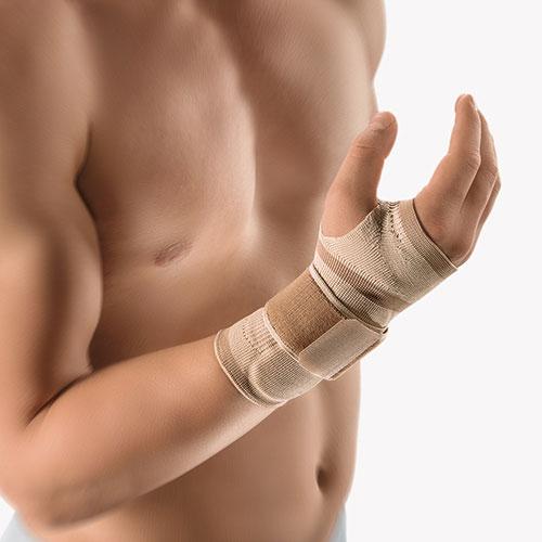 Kompresyjny bandaż na nadgarstek